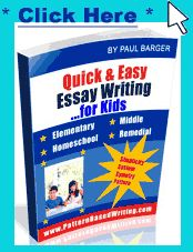 common patterns of essay organization include