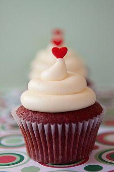 red velvet, cream cheese icing cupcake - enough said. #yum