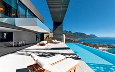 view from the terrace at Clifton, Cape Town, South Africa