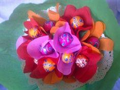 Ideas para hacer originales ramos de flores | Aprender manualidades es facilisimo.com
