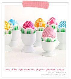 Washi tape eggs.