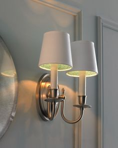 Glittered Wall Sconces