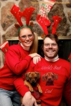What on earth is this? Maybe the best Christmas portrait ever?