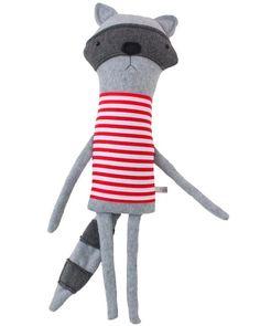 Raccoon Plush from Finkelstein's Center