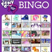 Equestria Girls Bingo