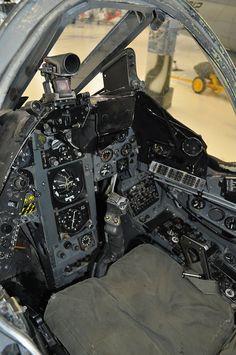 A-7 cockpit