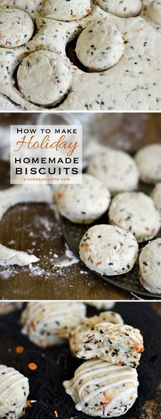 How to Make Homemade Southern Biscuits. A Simple Holiday Breakfast Recipe! LivingLocurto.com