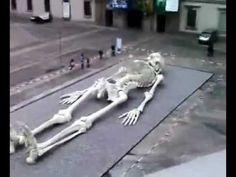 Giant Human Skeleton in Arabia