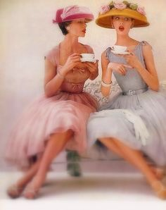 tea time, tea parti, classical tea party, classic tea party, afternoon tea, tea party outfits, hat