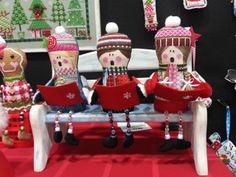 Sew Much Fun needlepoint carolers 3-d figures