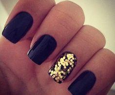 holiday nails, gold nails, nail designs, nail art designs, nail arts