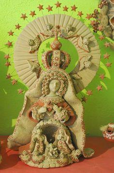 Nativity Scene Oaxaca Mexico by Teyacapan,