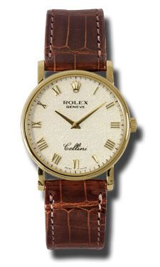 Rolex Watches - Cellini Classic - Style No: 5115.8 jr - very chic casual watch for women