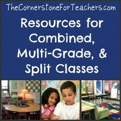 Tips for Teaching Combined Class/Multi-Grade Classes -easy it use and understand