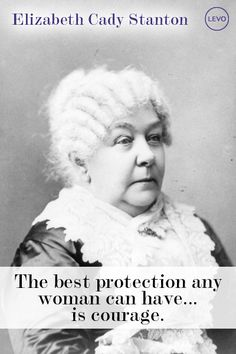 Elizabeth Cady Stanton | Suffragettes Who Wouldn't Quit http://www.levo.com/articles/news/womens-history-month-suffragettes?utm_content=buffere75c1&utm_medium=social&utm_source=twitter.com&utm_campaign=buffer