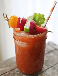 Weekend Brunch Cocktail: A New Twist on the Bloody Mary From HGTV's Design Happens Blog (http://blog.hgtv.com/design/2013/04/25/weekend-brunch-cocktail-a-new-twist-on-the-bloody-mary/?soc=pinterest)