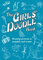 Similar books containing starter doodles for you to complete -  The Boy's Doodle Book and The Girl's Doodle Book – both by Andrew Pinder;  Beautiful Doodles, Fabulous Doodles, and Designer Doodles – all by Nellie Ryan;  and The Doodle Book by John M. Duggan;  and Taro Gomi's Really Giant Colouring Books – Doodles, Scribbles and Squiggles.