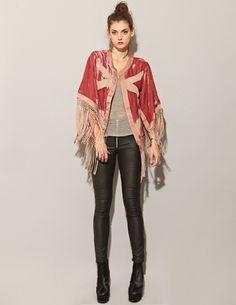 Dear Santa, please bring me this -> velvet fringe kimono