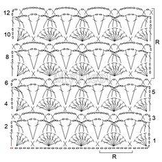 Dolce  Gabbana crochet designs for Spring/Summer 2013 Reconstruction pattern