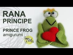 Tutorial Rana Príncipe Amigurumi San Valentín