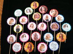 favors, cupcak topper, birthday parties, birthdays, parti taylor