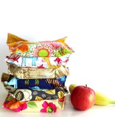 Reusable Fabric Sandwich Bag Tutorial
