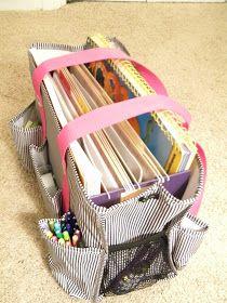 Not Just Teach...DO!!: Organized Work Bag