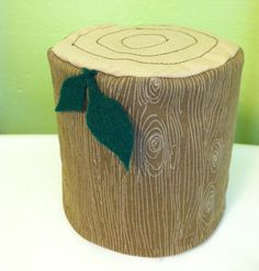 Log and Leaf Toilet Paper Roll Holder by ponyup on Etsy, $10.00