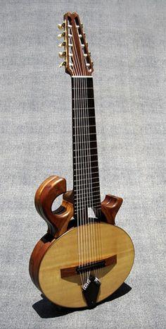 Mervyn Davis Smoothtalker 10-string classical guitar