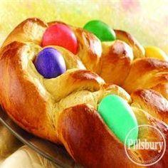 Easter Egg Bread Ring from Pillsbury® Baking