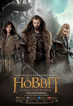 The Hobbit Movie News: New International Movie Posters for The Desolation of Smaug Released (Thorin, Kili and Fili)