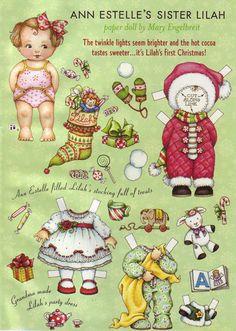 Mary Engelbreit Paper Doll  - Ann Estelle's Sister Lilah. $4.95, via Etsy.