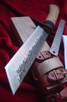 Handmade Forged Compund Steel Tanto Blade $57
