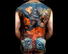 My favorite color tattoo, of all time.
