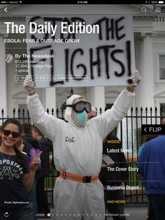 Obama appoinst an Ebola czar, getting kids to eat 'scary' food and photos of the week. Check out today's edition: flip.it/dailyedition