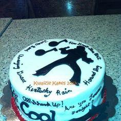 Elvis/50's theme cake