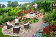 Small Pools For Small Backyards | backyard design | landscaping photos
