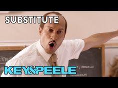 Key & Peele: Substitute teacher trying to pronounce kids' names. Hilarious.