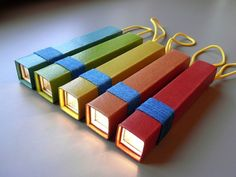 Flashlight made from a cereal box -DIY craft for kids