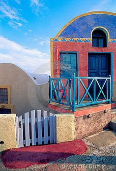 #Santorini, the island of colors and beautiful architecture style