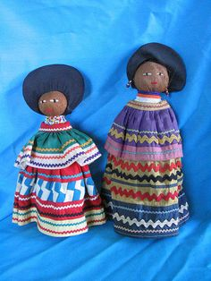 Seminole Indian Dolls. If you grew up in South Florida, you probably had at least one of these.