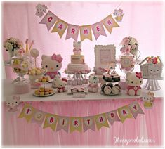 Adorable Hello Kitty Party #hellokitty #party