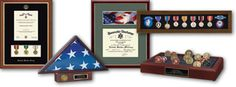 The United States military frames, display cases, award and certificate frames are designed to commemorate and recognize all military achievements and special honors. Frame an honorable discharge certificate, commission certificate, portrait, or other important documents. Start shopping!