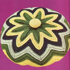 PDF CROCHET PATTERN  Chevron Circular by PastPerfectPatterns, £1.25