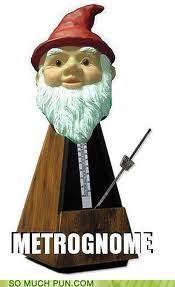 Metrognome... his eyebrows better be well-groomed...
