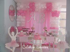 Criando Sonhos: Decoração de Festa Infantil Provençal Bailarinas