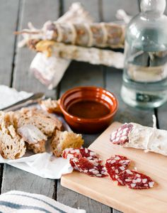 Port and Fennel Salami