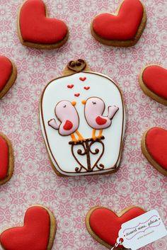 Love bird cookies ♥