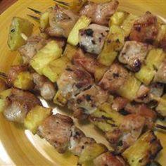 Yummy recipe! Hawaiian kabobs