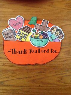 Thanksgiving Bible Craft
